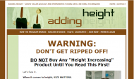 Adding Height - Membership