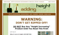 Adding Height - Membership