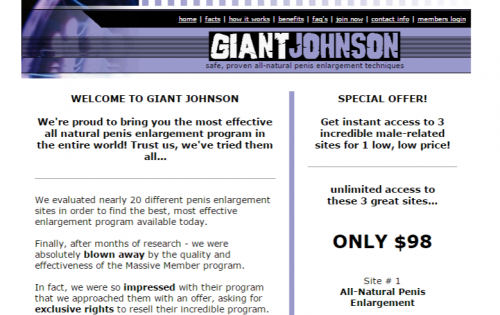 Giant Johnson - Membership